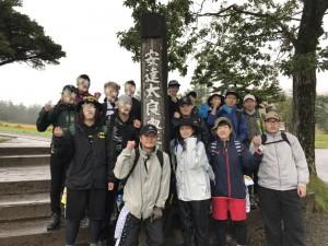 安達太良登山研修